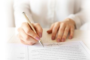 Signing a TX prenuptial agreement